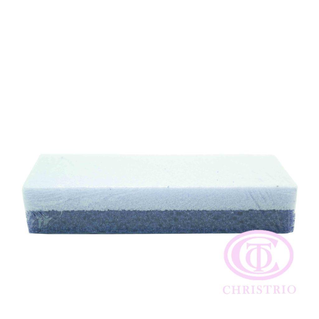 Pumice Sponge 2 shades of violet – aplikátor pro ruční leštění