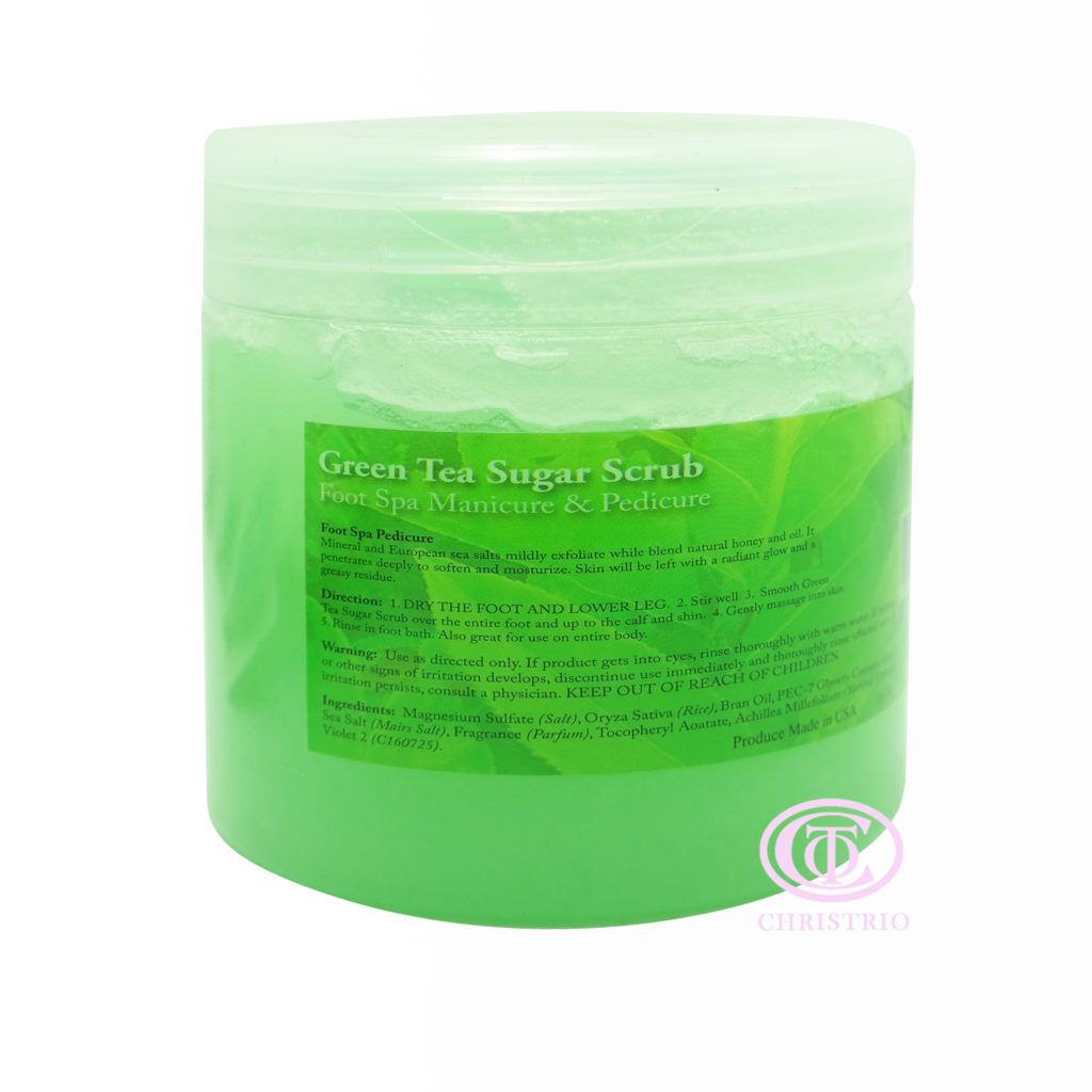 KDS Sugar scrub green tea