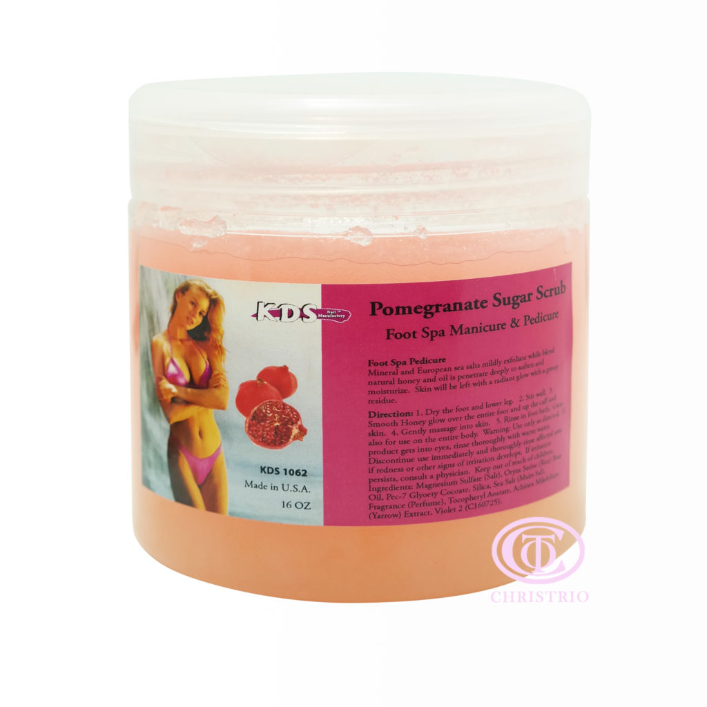 KDS Sugar scrub pomegranate