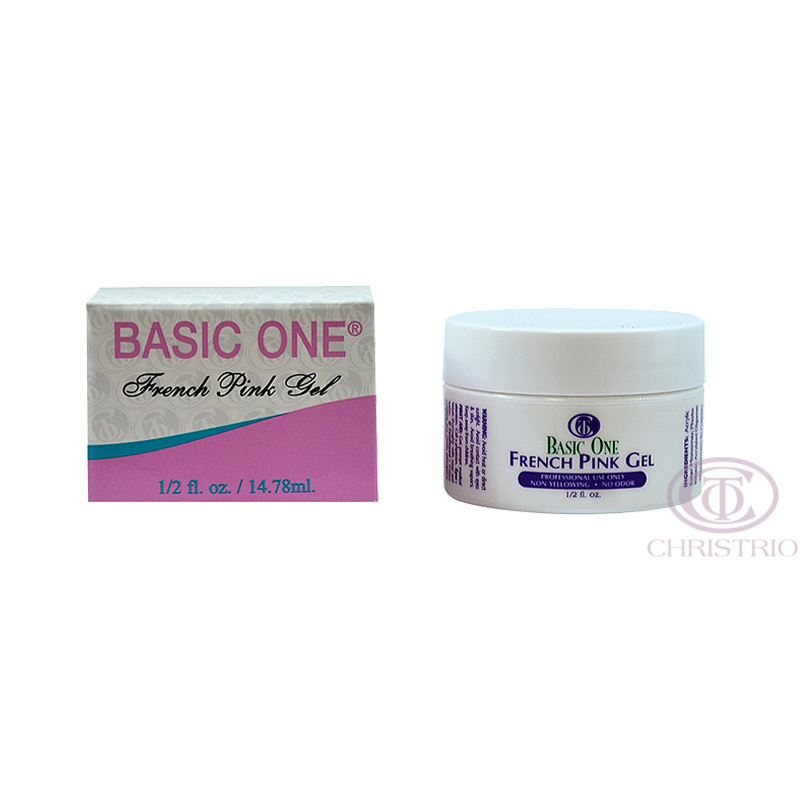 CHRISTRIO Basic One french pink gel 0,5oz 15ml