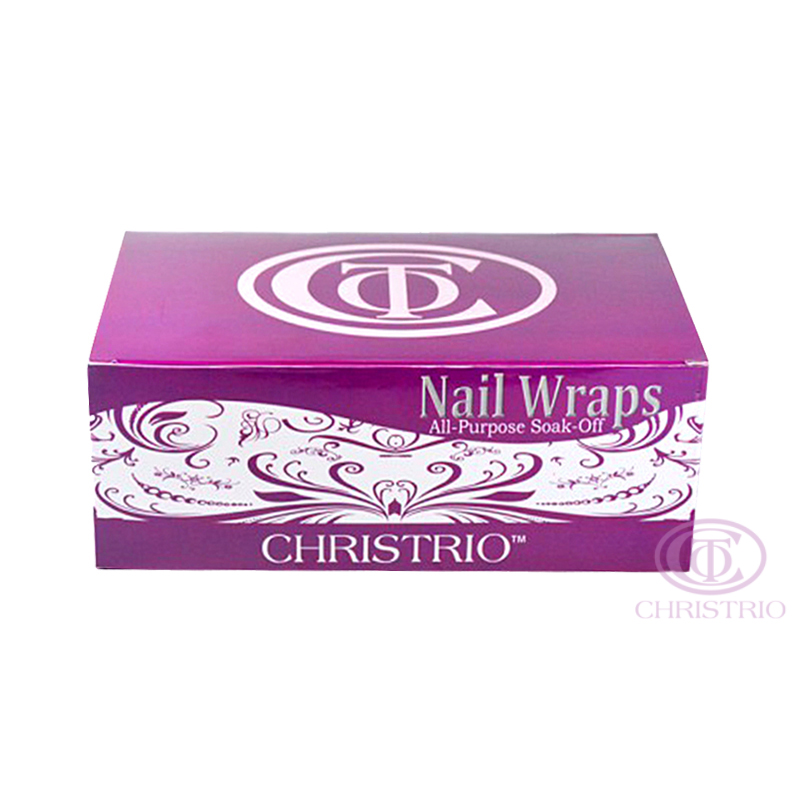 CHRISTRIO Nail Wraps 200pcs