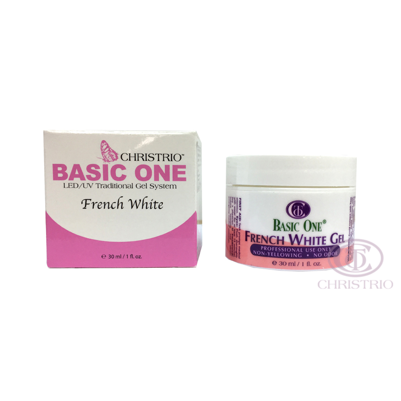 Christrio Basic One French White Gel 1oz-30ml