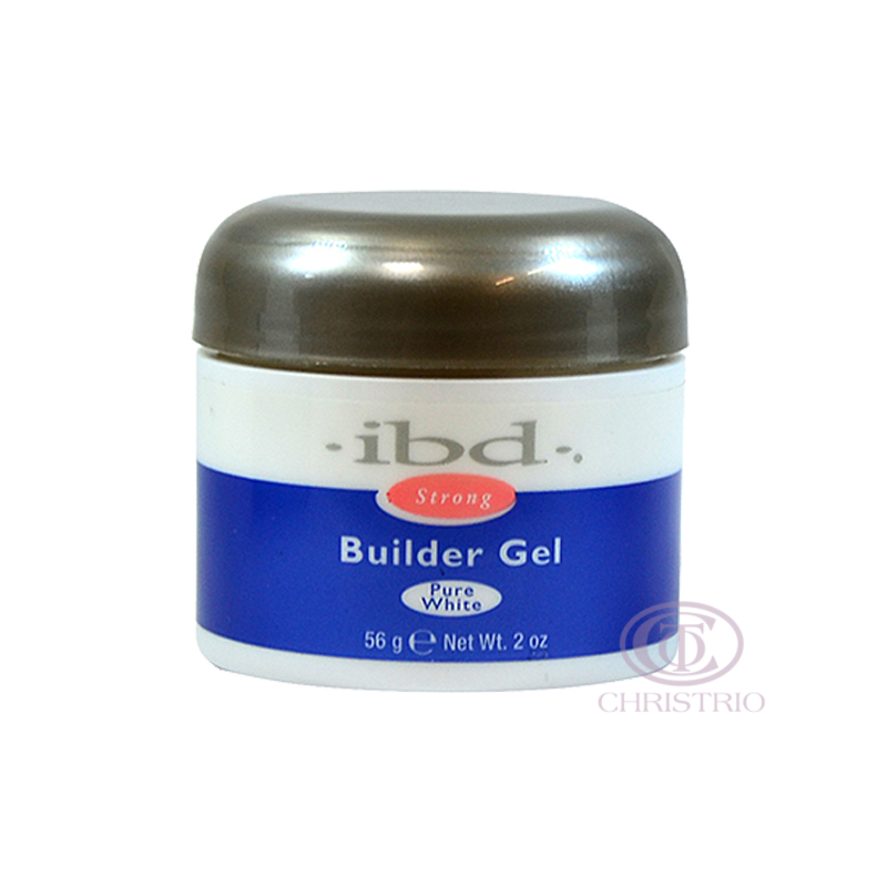 IBD Strong Builder Gel 2oz 56g - Pure White