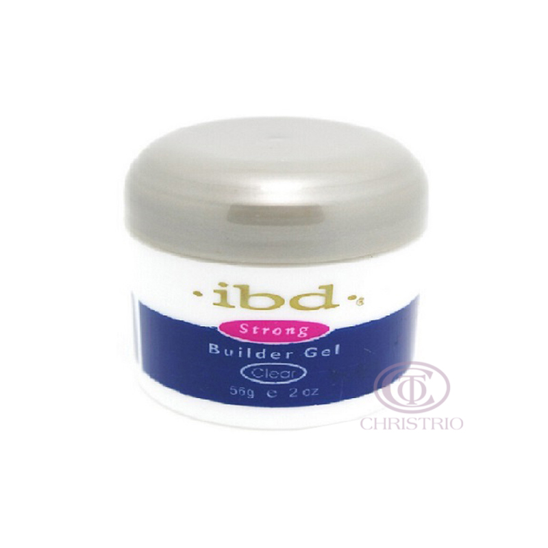IBD Strong Builder Gel 2oz 56g - clear