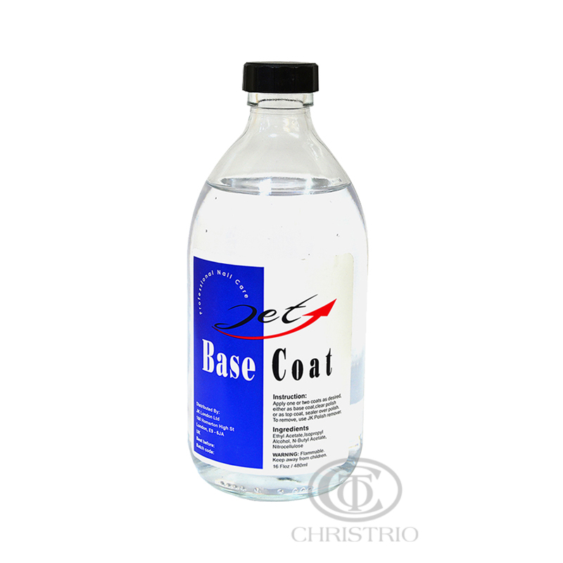 JET BASE COAT 16oz 500ml - clear