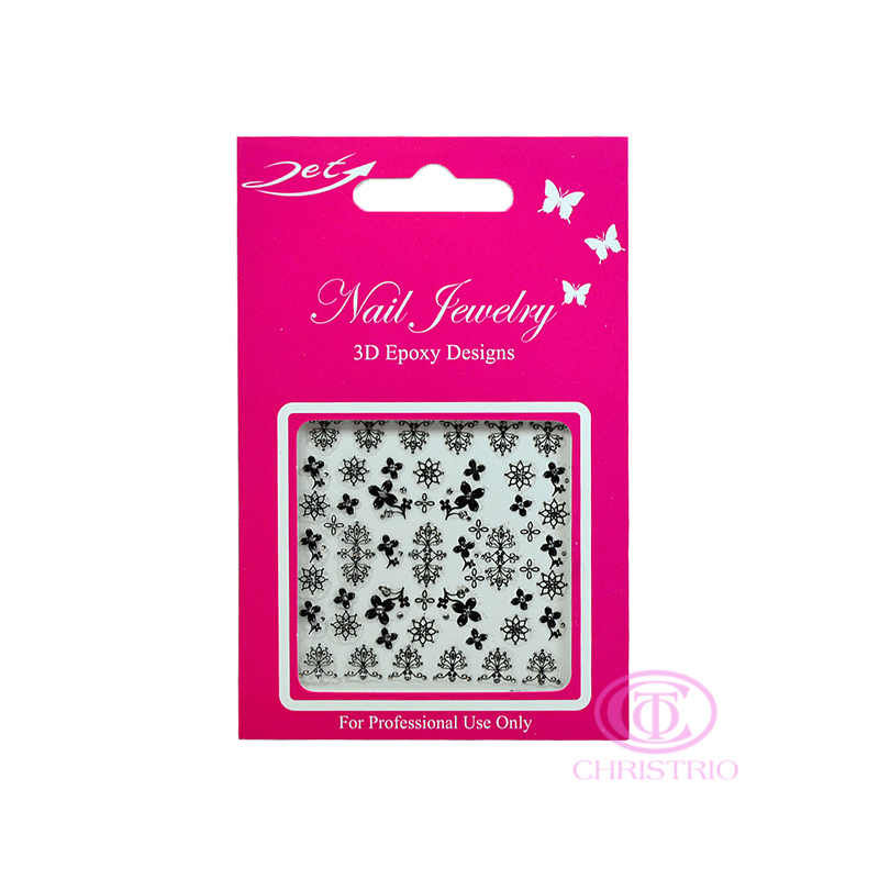 JET Nail Jewelry 3D Epoxy Designs stickers - B10