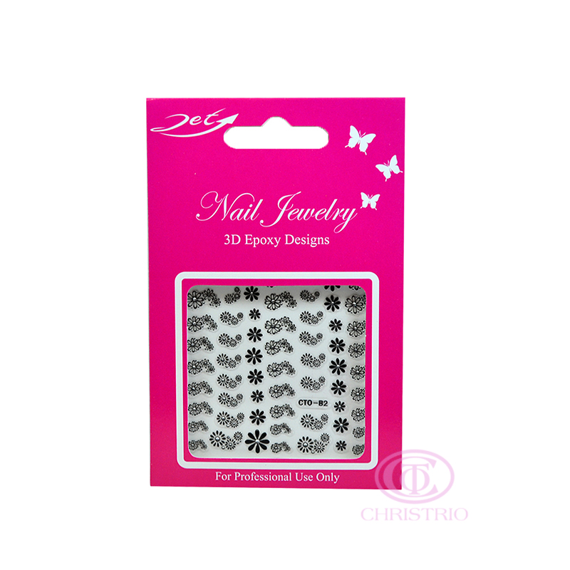JET Nail Jewelry 3D Epoxy Designs stickers - B2