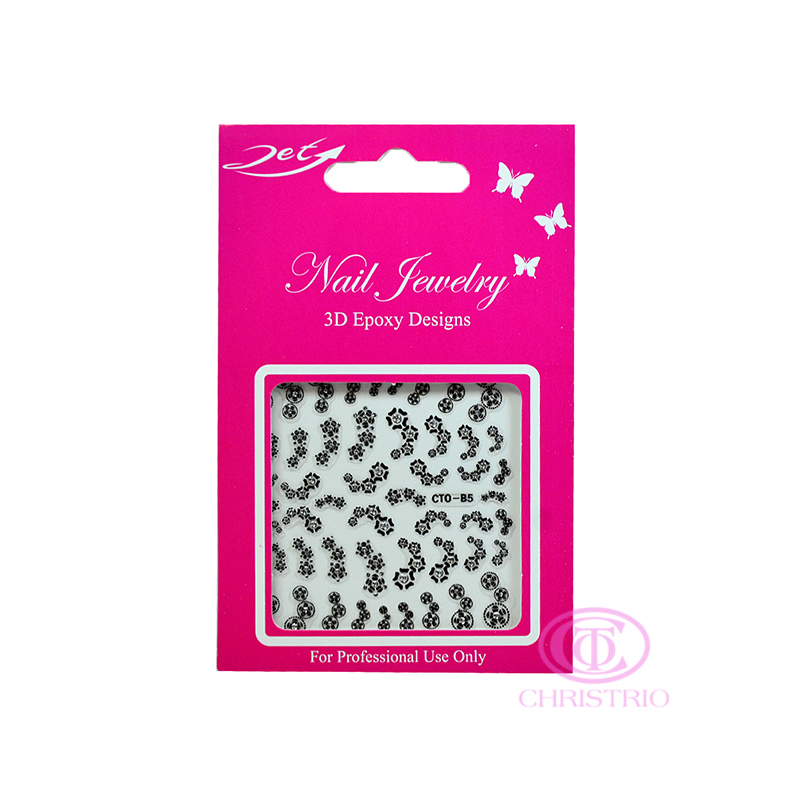 JET Nail Jewelry 3D Epoxy Designs stickers - B5
