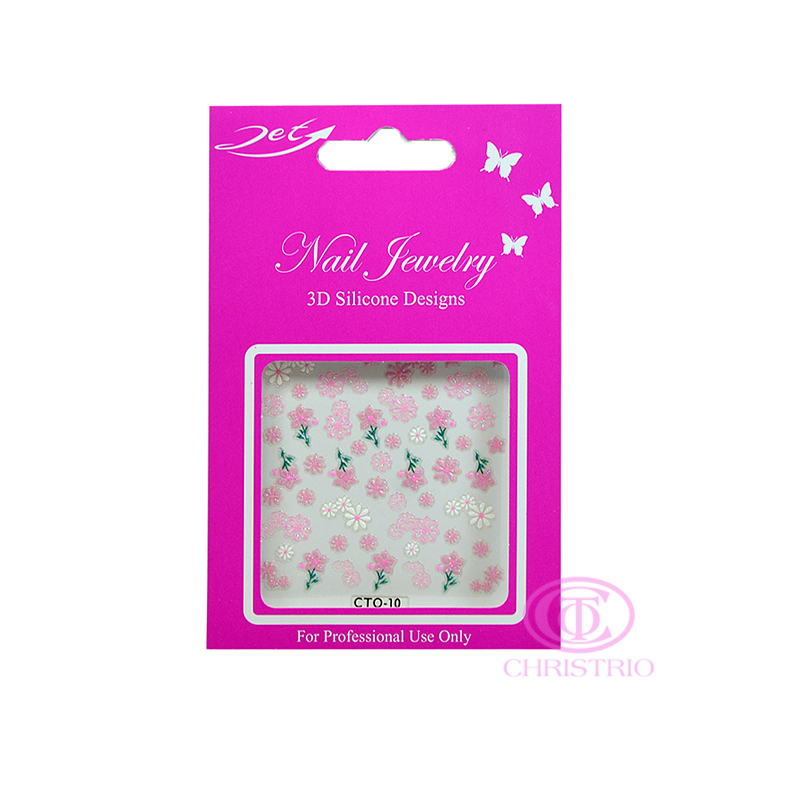 JET Nail Jewelry 3D Silicone Designs - 10