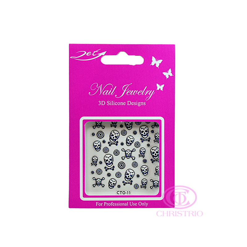 JET Nail Jewelry 3D Silicone Designs - 11