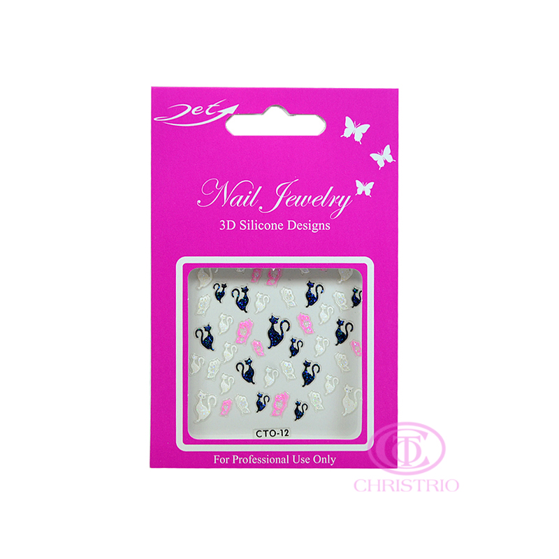 JET Nail Jewelry 3D Silicone Designs - 12