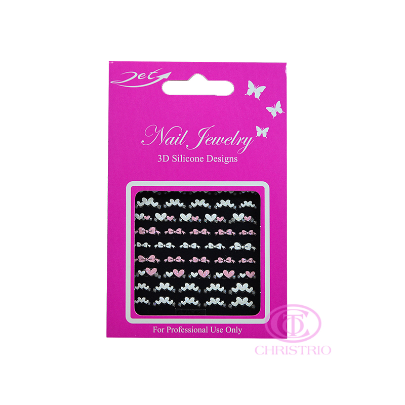 JET Nail Jewelry 3D Silicone Designs - 3