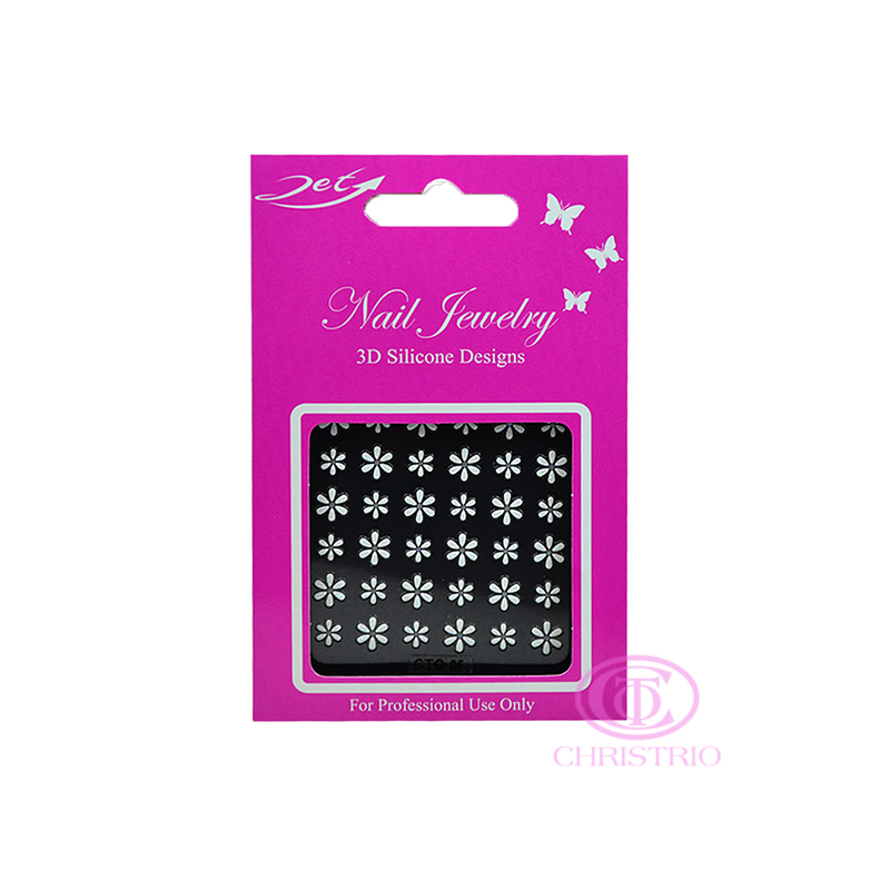 JET Nail Jewelry 3D Silicone Designs - 5