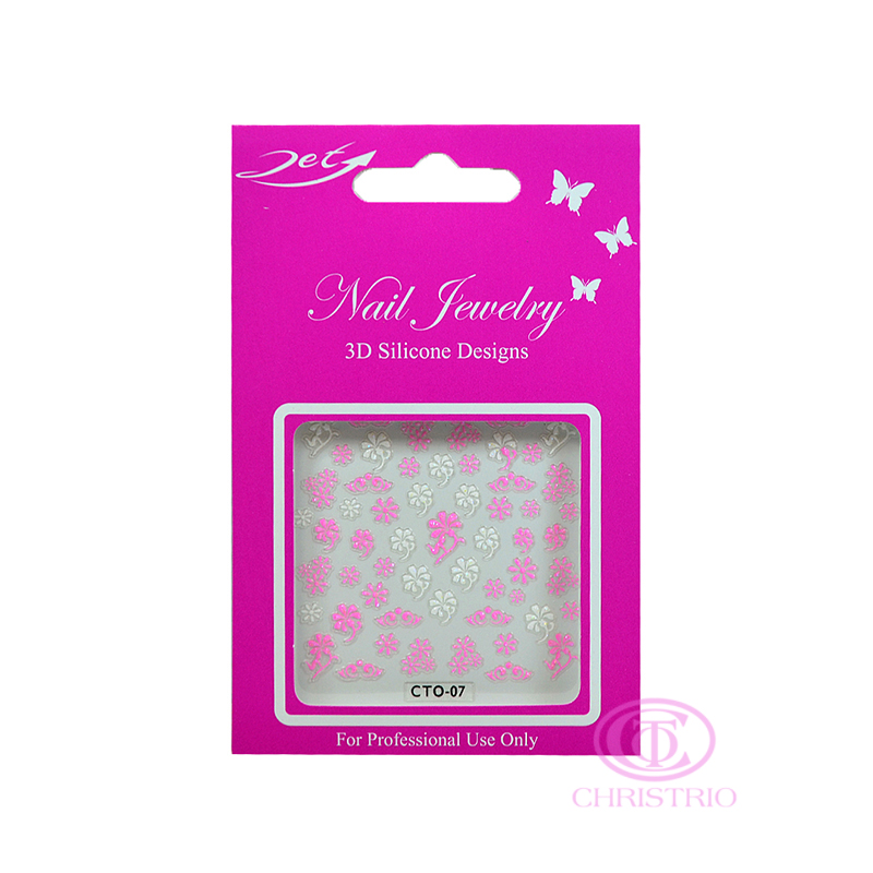 JET Nail Jewelry 3D Silicone Designs - 7