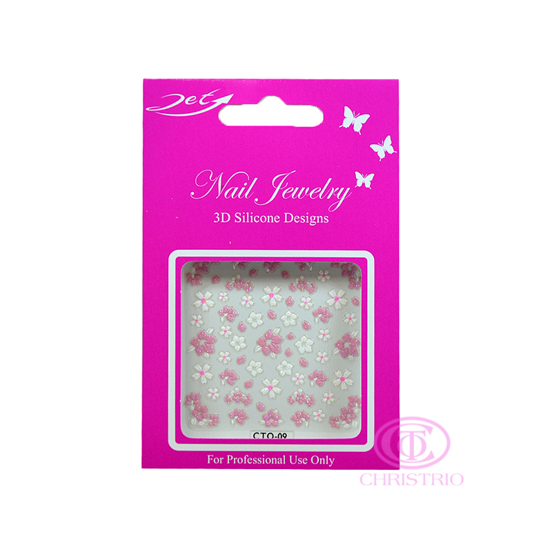 JET Nail Jewelry 3D Silicone Designs - 9