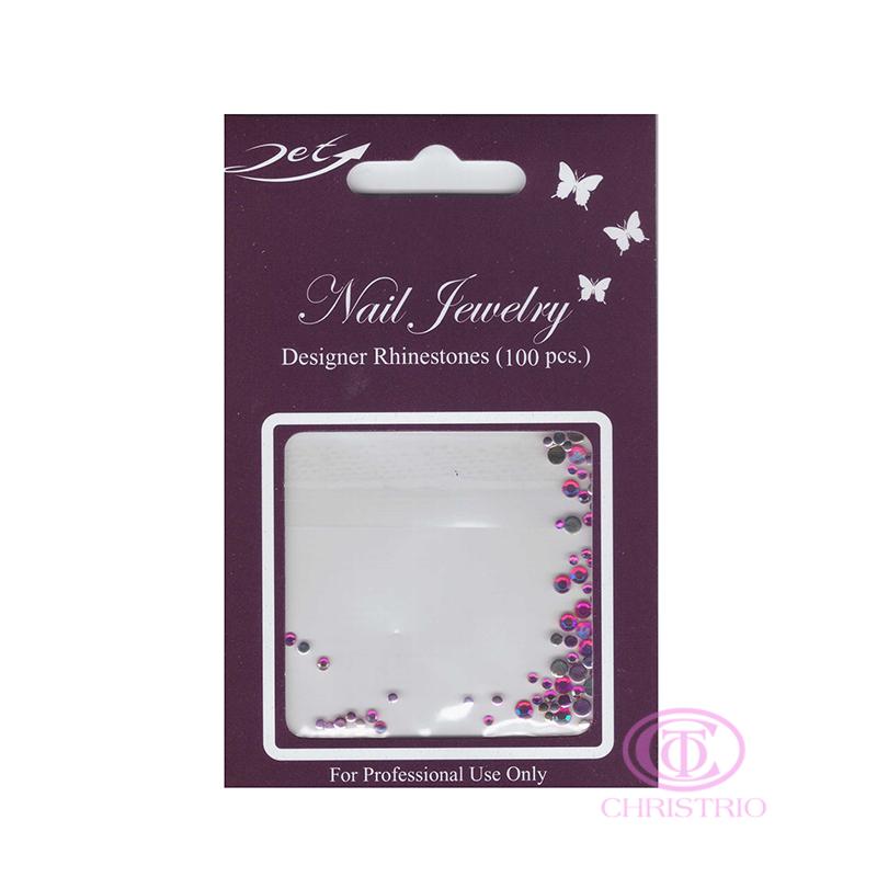 JET Nail Jewelry Designer Rhinestones - 12