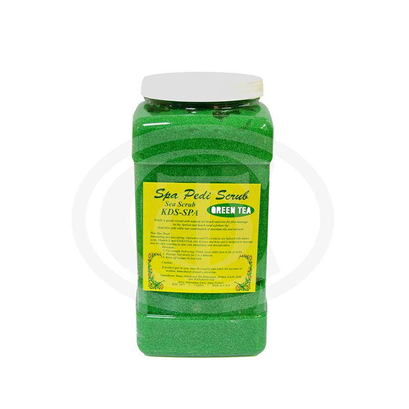 kds-pedi-scrub-xl-green-tea-1gal-379l