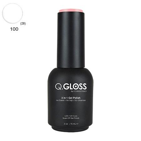 Q.Gloss 3 in 1 Gel Polish #100