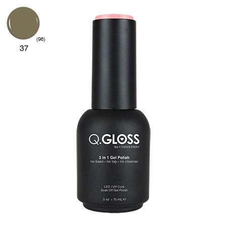 Q.Gloss 3 in 1 Gel Polish #37