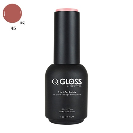Q.Gloss 3 in 1 Gel Polish #45