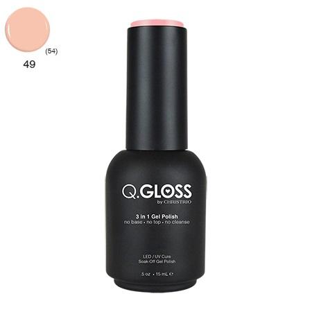 Q.Gloss 3 in 1 Gel Polish #49