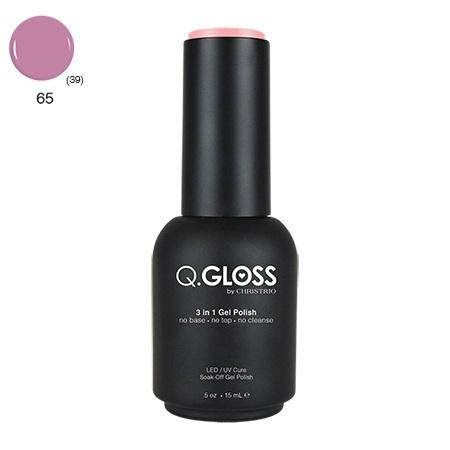 Q.Gloss 3 in 1 Gel Polish #65