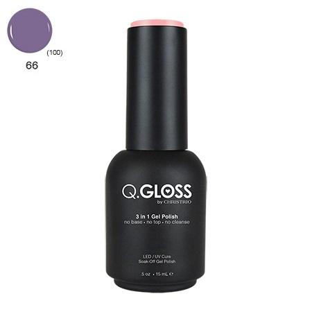 Q.Gloss 3 in 1 Gel Polish #66
