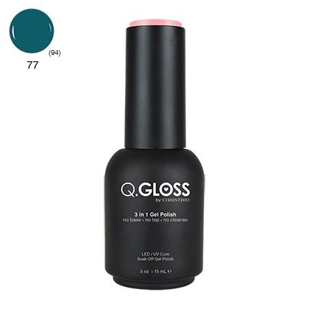 Q.Gloss 3 in 1 Gel Polish #77
