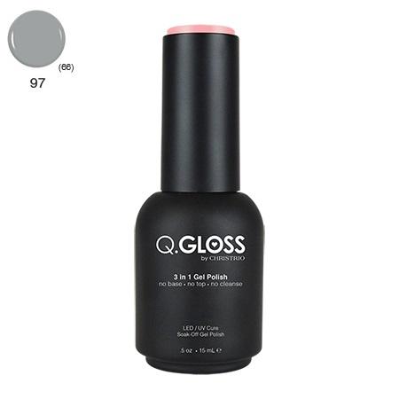 Q.Gloss 3 in 1 Gel Polish #97