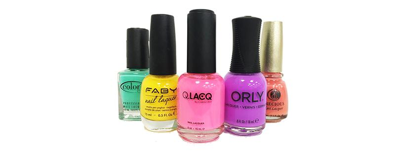A wide selection of quality gels, nails polish and accessories. title=Gels