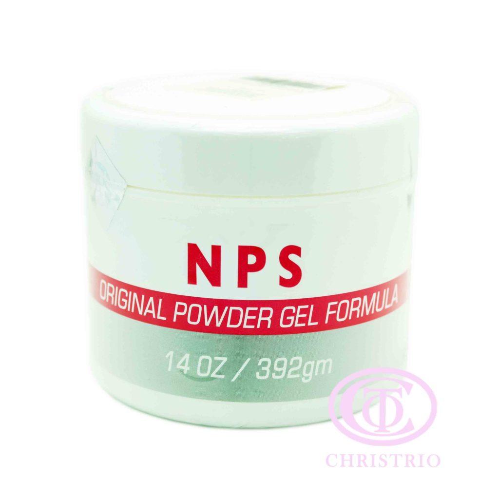 NPS Original powder gel formula – Pudr na akrylové nehty (396g)