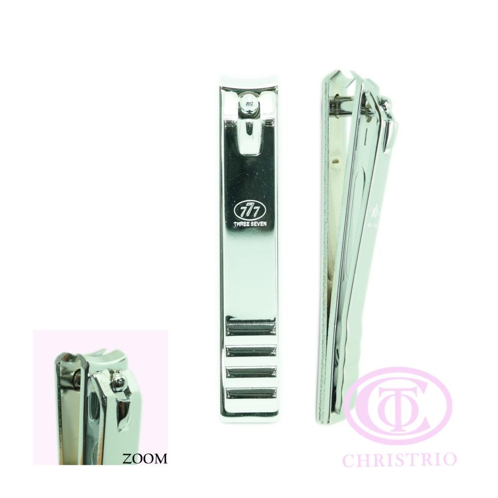 777 nail clipper stainless S curved – Pedikérské kleště