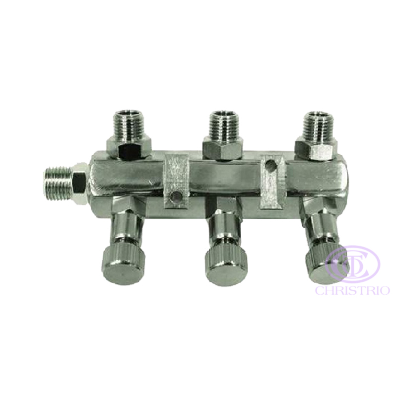 Airbrush Manifold 3way