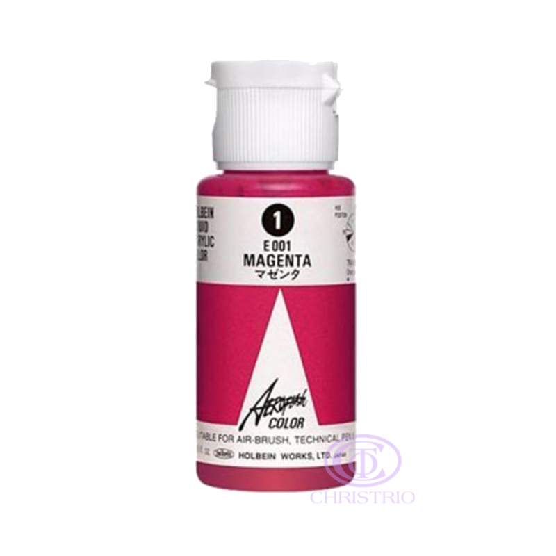 HOLBEIN Airbrush Paint 1,18oz 35ml 1-Magenta