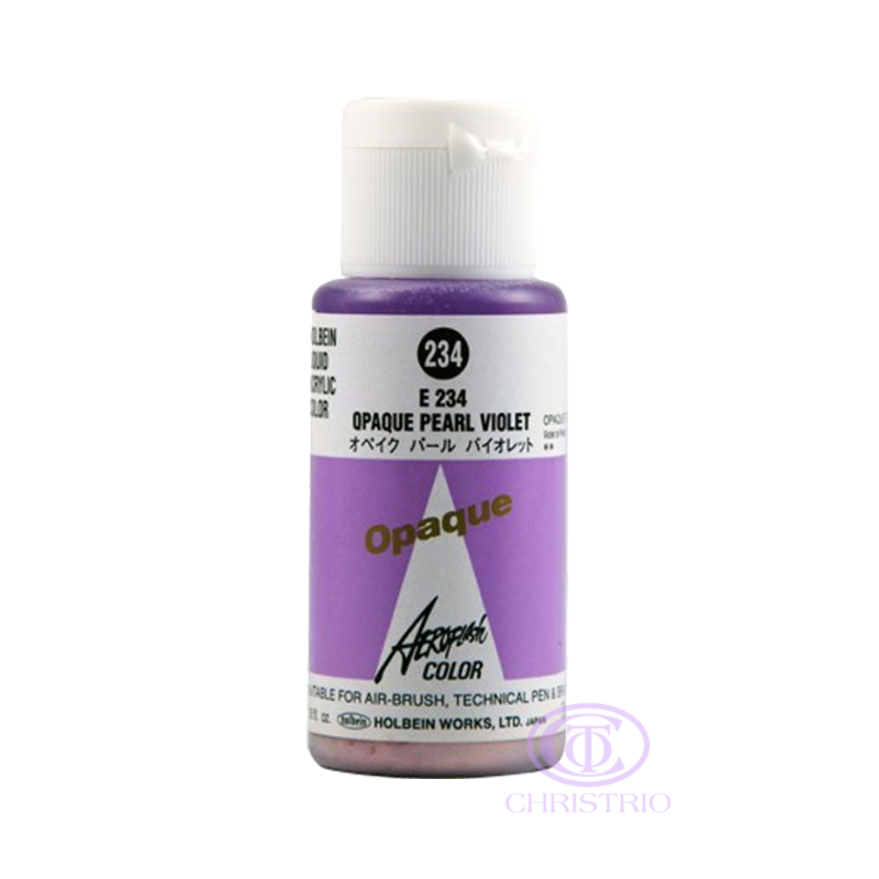 HOLBEIN Airbrush Paint 1,18oz 35ml 234-Opaque Pearl Violet