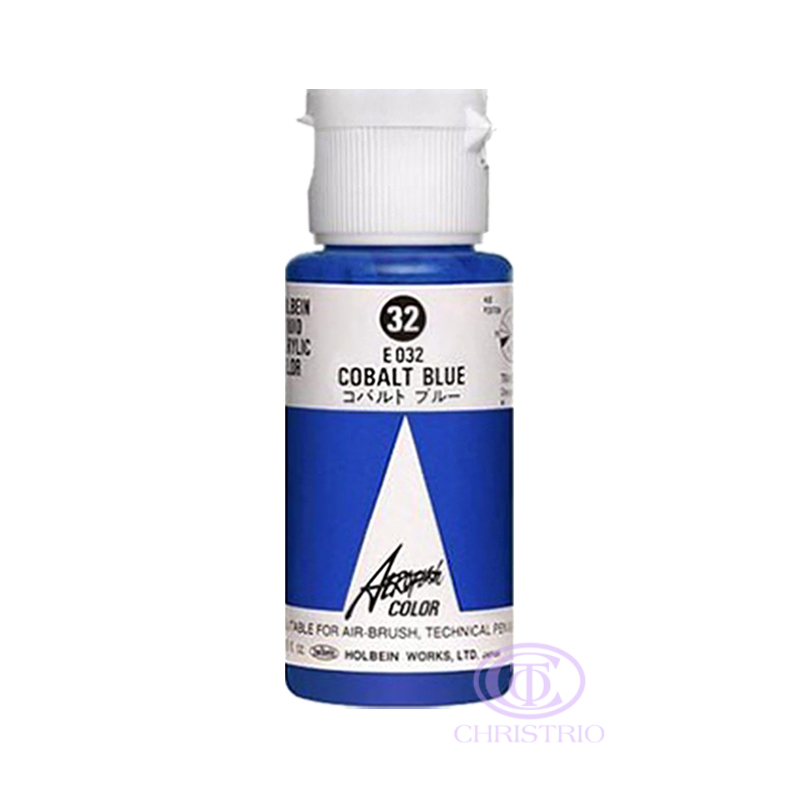 HOLBEIN Airbrush Paint 1,18oz 35ml 32-Cobalt Blue