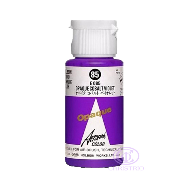 HOLBEIN Airbrush Paint 1,18oz 35ml 85-Opaque Cobalt Violet