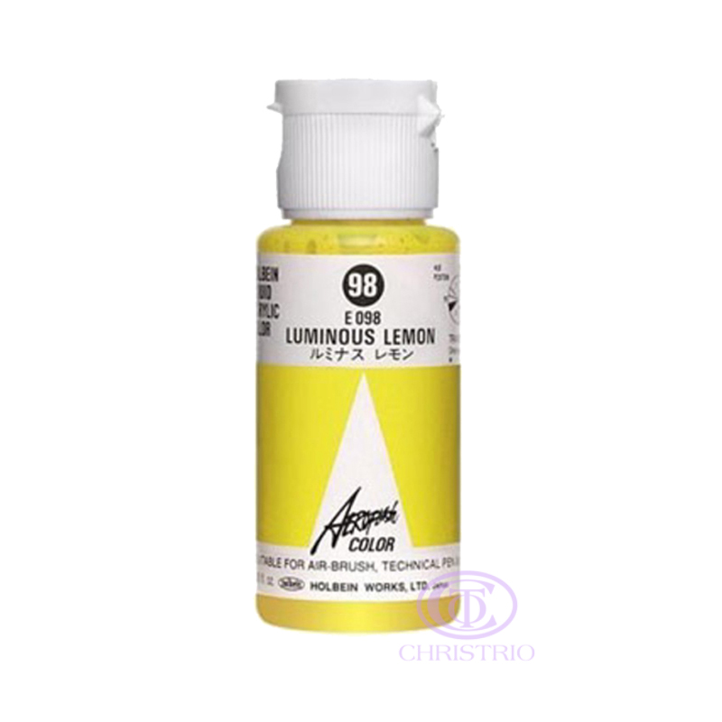 HOLBEIN Airbrush Paint 1,18oz 35ml 98-Luminous Lemon