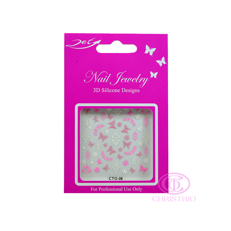 JET Nail Jewelry 3D Silicone Designs - 8