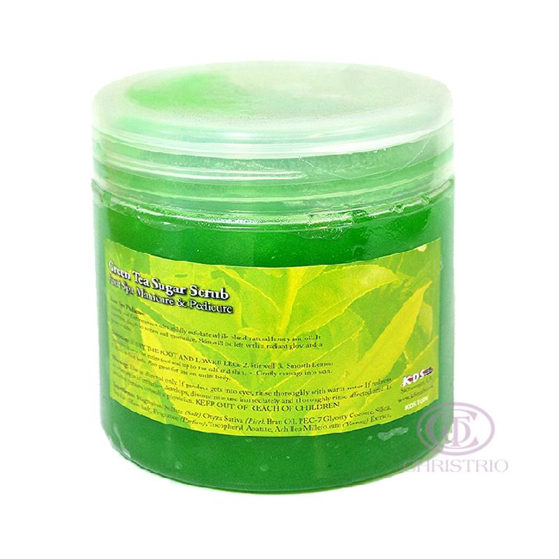 KDS Sugar scrub 16oz 500ml - green tea
