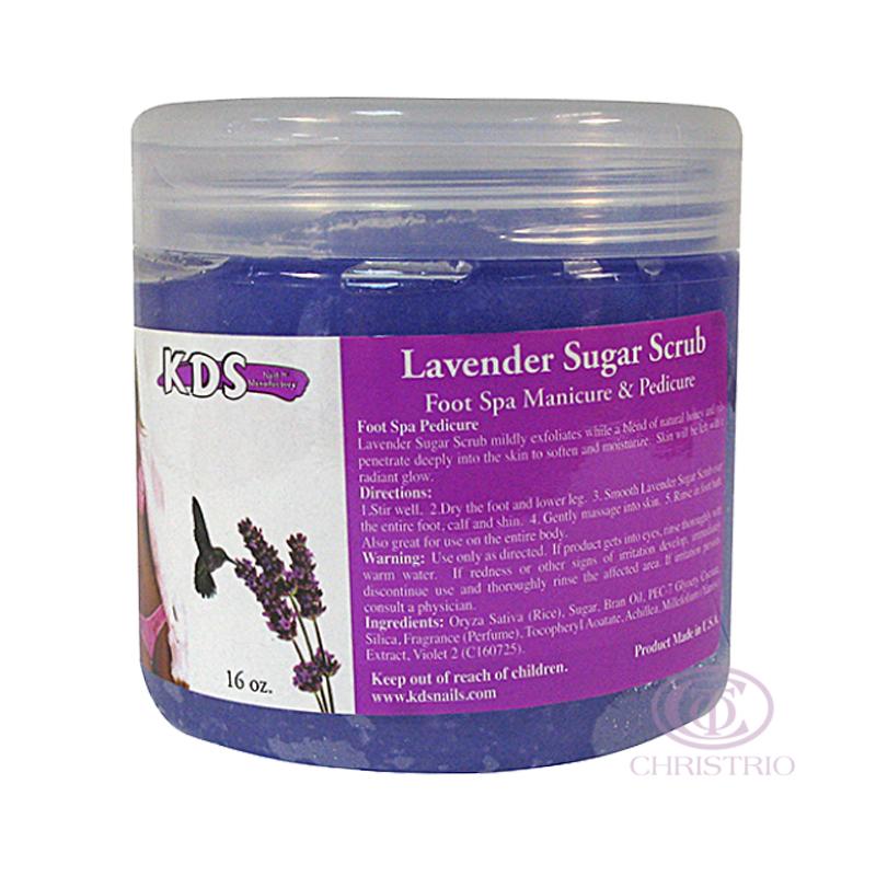 KDS Sugar scrub 16oz 500ml - levander