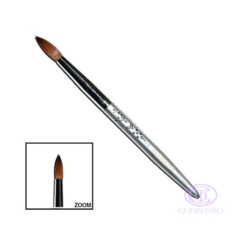 NPS Element Brush #14 - silver