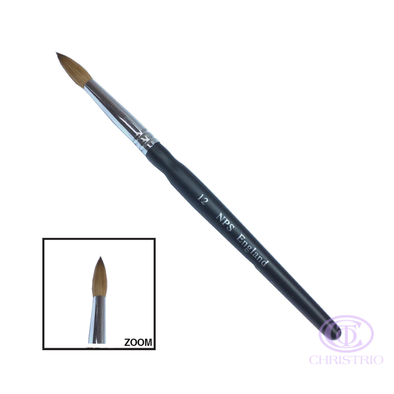 NPS brush sable England #12
