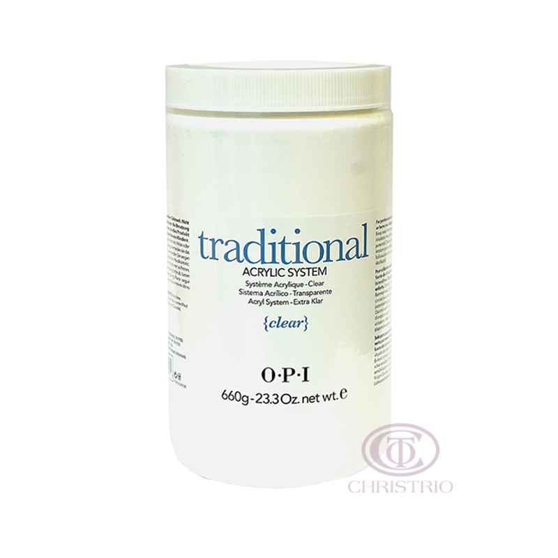 OPI Traditional acrylic system 23oz 660g Clear