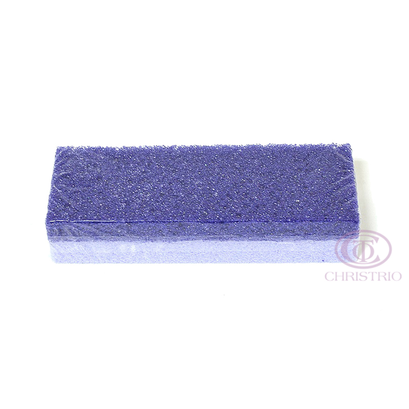 Pumice Sponge 2 shades of violet 1pcs