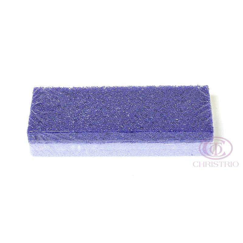 Pumice Sponge 2 shades of violet 1pcs