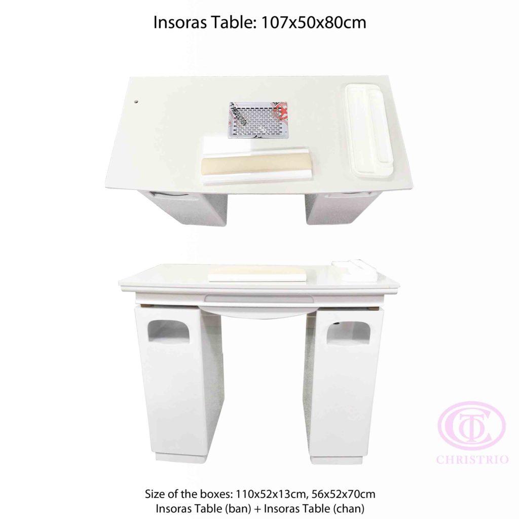 Insoras Table – Manikúrní stoly