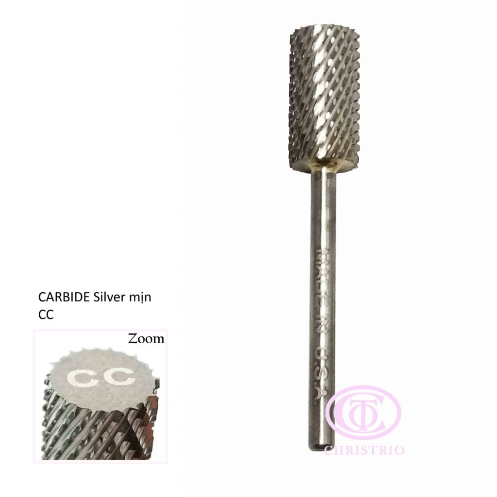 Carbide(stříbrný-M) – Brusná fréza (CC)