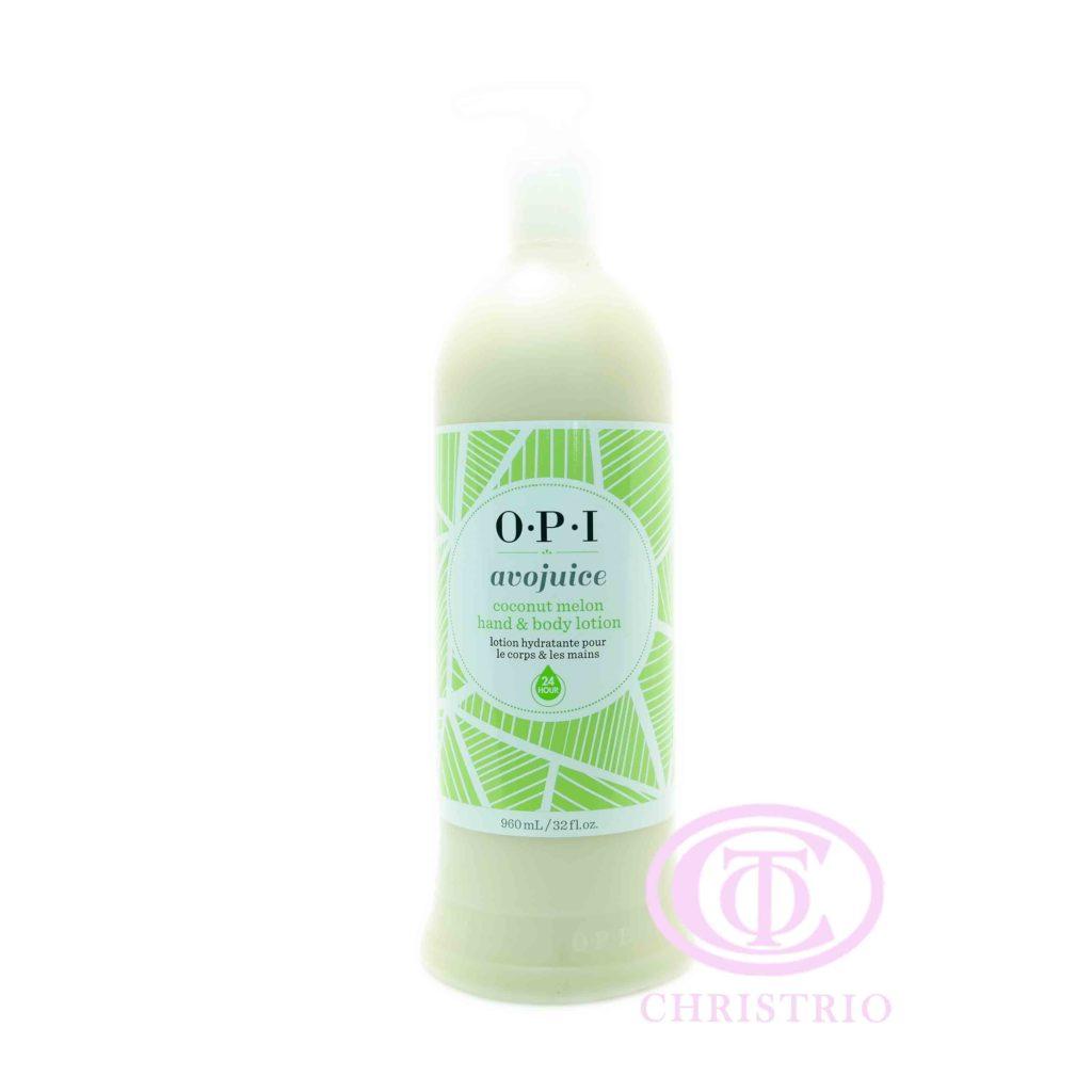 OPI Avojuice Lotion – Krém na ruce (Coconut Melon 960ml)