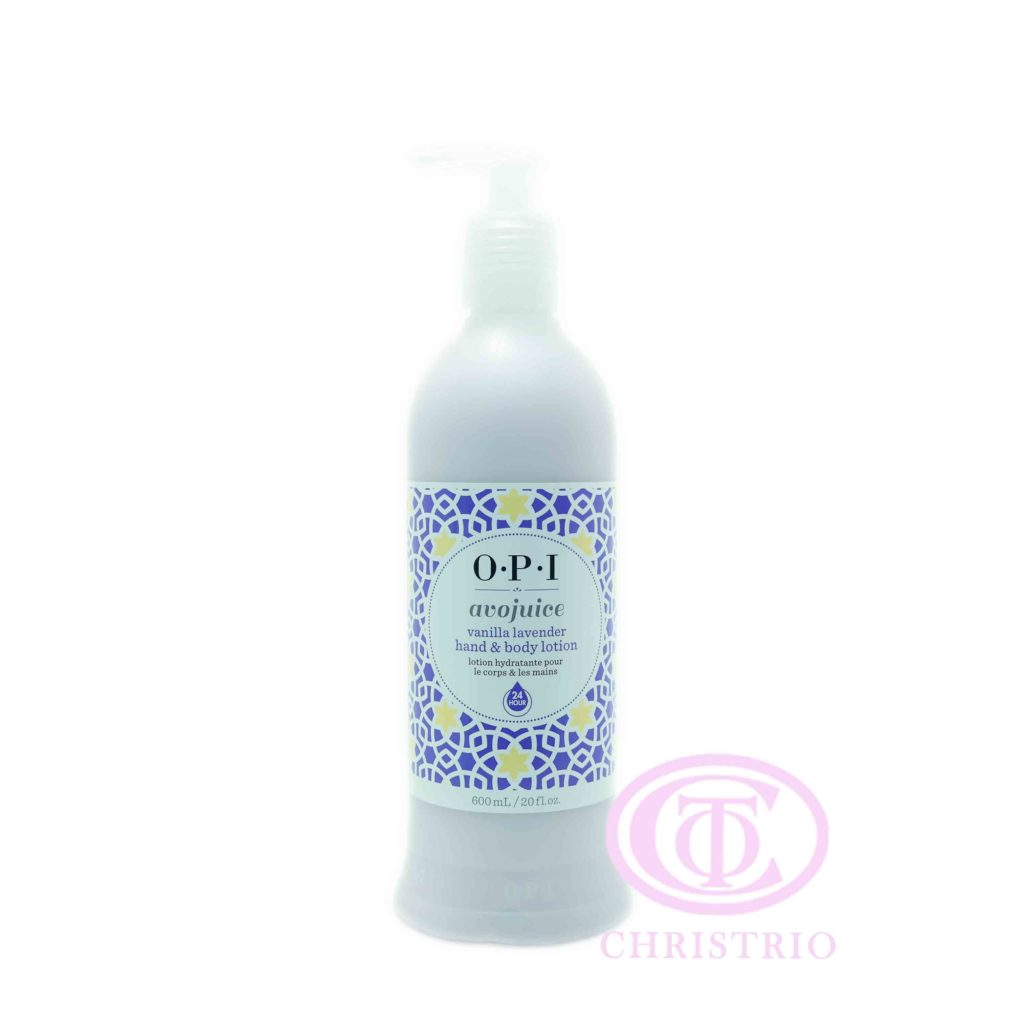 OPI Avojuice Lotion – Krém na ruce (Vannilla Lavender 600ml)